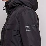 Чоловіча зимова куртка Burberry, чорного кольору., фото 2