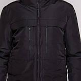 Чоловіча зимова куртка Burberry, чорного кольору., фото 3