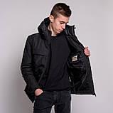 Чоловіча зимова куртка Burberry, чорного кольору., фото 8