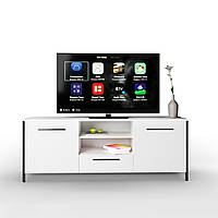 Тумба під телевізор UNTV 06B 60×155×36,5 Білий