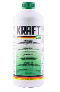 Готовый антифриз KRAFT G11 зеленый 1.5 л