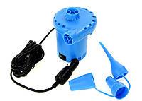Электрический воздушный насос от прикуривателя Silver Crest SGP 12 C3 синий + автомобильный адаптер 12V