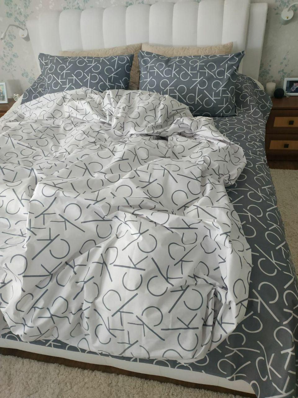 Комплект постельного белья  Бязь GOLD 100% хлопок Кельвин Кляйн