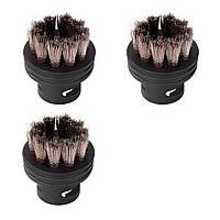 Набор аксессуаров для пароочистителя Round Brush Set (3 предмета из нержавеющей стали) SS