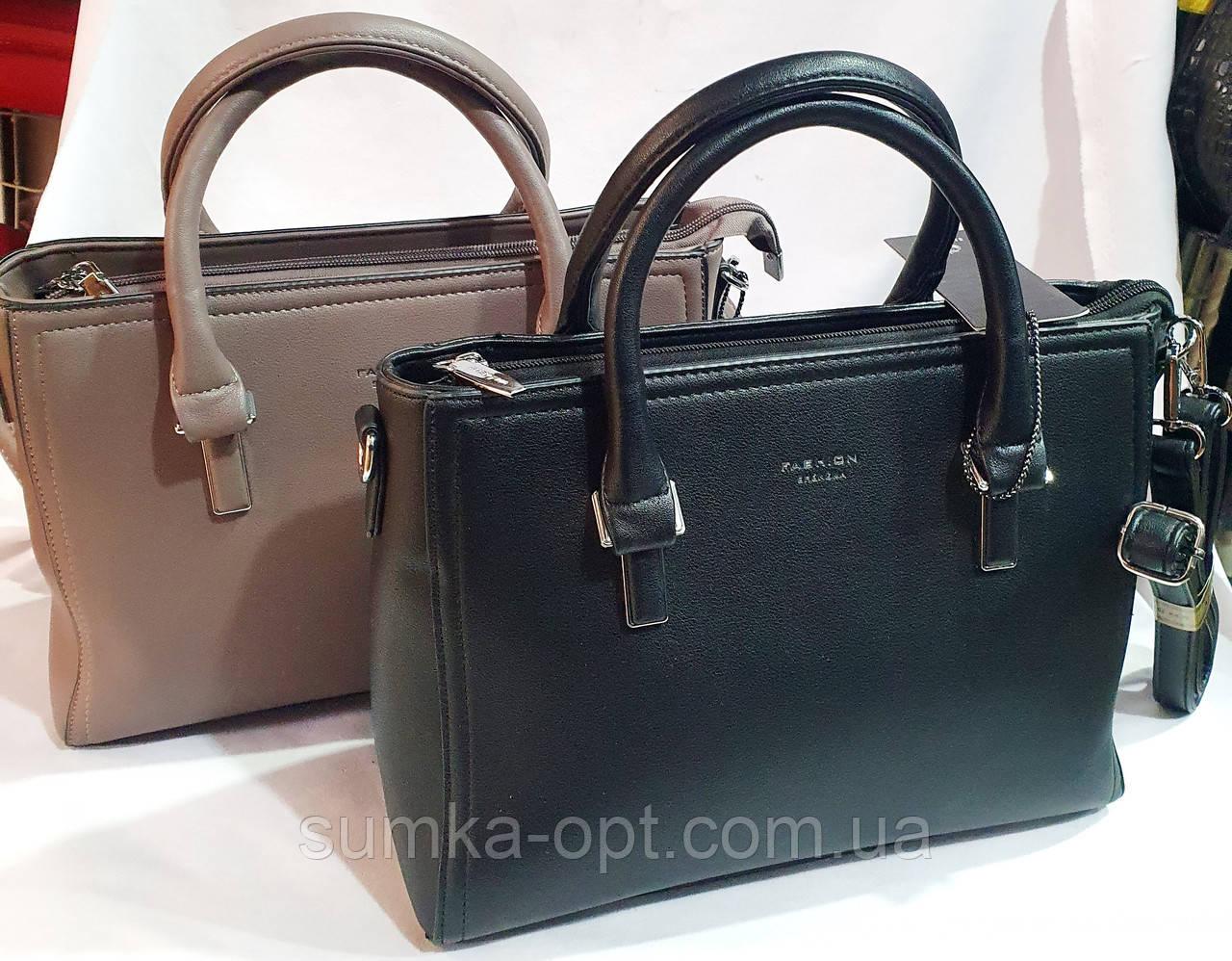 Женские сумки Китай из качественного кожзама 29*22 см