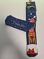 """Новогодние носки женские  зимние махровые внутри хлопок """"Ekmen36-41, фото 1"""