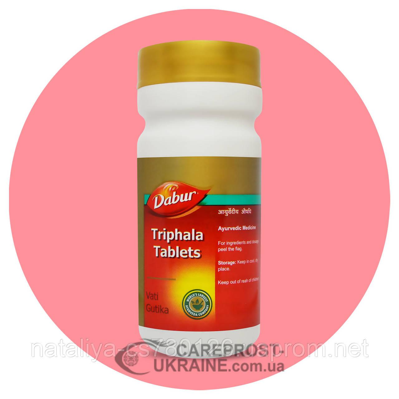 Трифала Дабур (Triphala Tablets Dabur) 60 таблеток