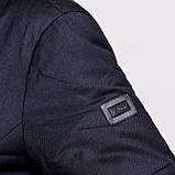 Чоловіча зимова куртка Brioni, темно-синього кольору., фото 4
