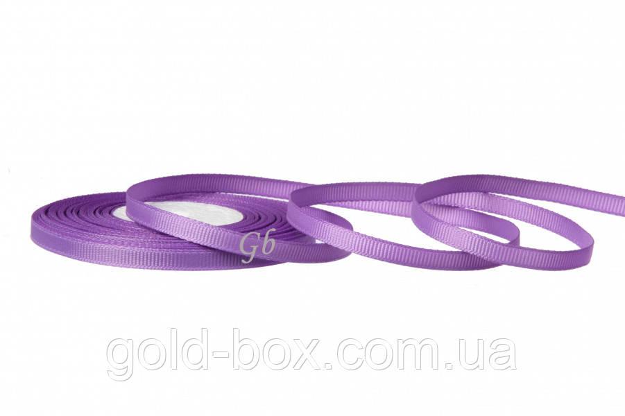 Репс лента 0,6см светло-фиолетовая