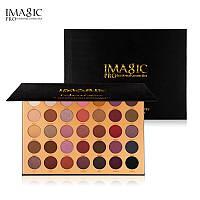 Палетка тіней для повік - Imagic PROfessional cosmetics Elegant Black EY-325 (Оригінал)