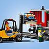Lego City Товарный Поезд, фото 3