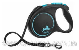 Рулетка-повідець Flexi New Comfort L стрічка для собак до 60 кг/5 метрів