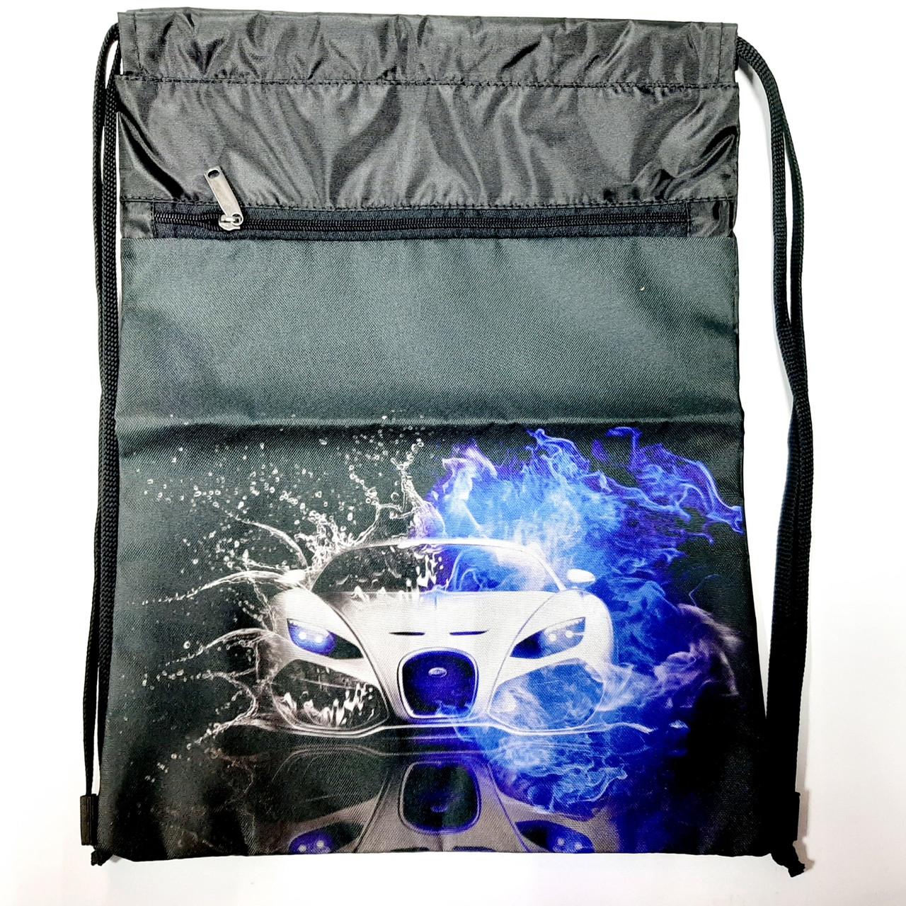 Рюкзак для сменной обуви Машинки