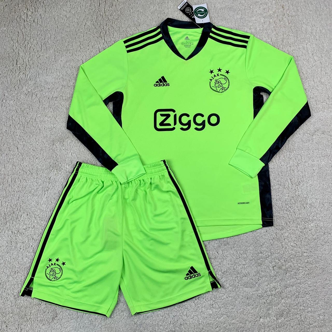 Футбольная форма с длинным рукавом Аякс/Ajax ( Нидерланды, Эредивизи ), вратарская, сезон 2020-2021