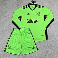 Футбольная форма с длинным рукавом Аякс/Ajax ( Нидерланды, Эредивизи ), вратарская, сезон 2020-2021, фото 1