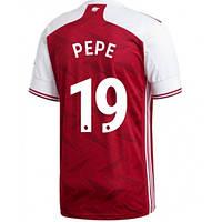 Футбольная форма Арсенал/Arsenal PEPE 19 ( Англия, Премьер Лига ), домашняя, сезон 2020-2021, фото 1