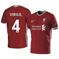Футбольная форма Ливерпуль/Liverpool VIRGIL 4 ( Англия, Премьер Лига ), домашняя, сезон 2020-2021, фото 1