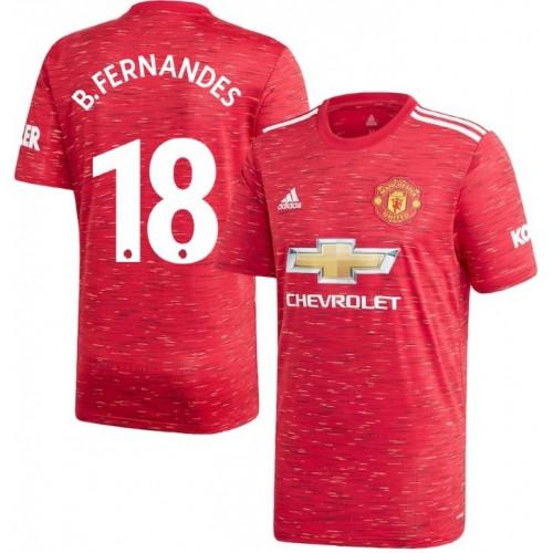 Футбольная форма Манчестер Юнайтед B. FERNANDES 18 ( Англия, Премьер Лига ), домашняя, сезон 2020-2021