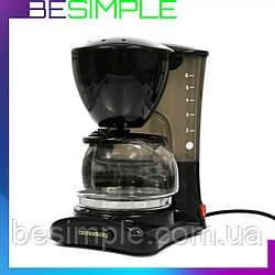 Крапельна кавоварка з чайником Crownberg CB-1563