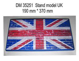 Подставка под модели (тема Великобритания) 1/35 DANMODELS DM35251