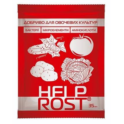 Удобрение для Овощных культур Help Rost (Хелпрост), 35 мл, фото 2