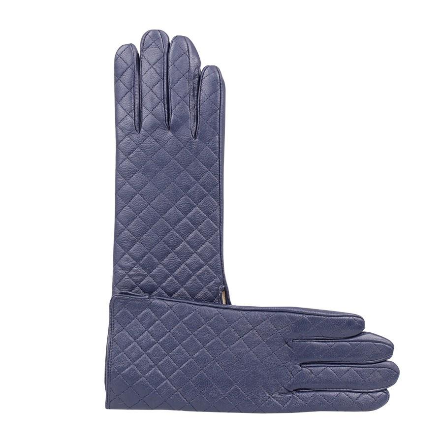 Перчатки женские de esse Синие