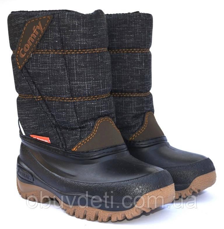 Зимові чоботи з валянком Demar для хлопчика розмір 29/30 - 19,5 см