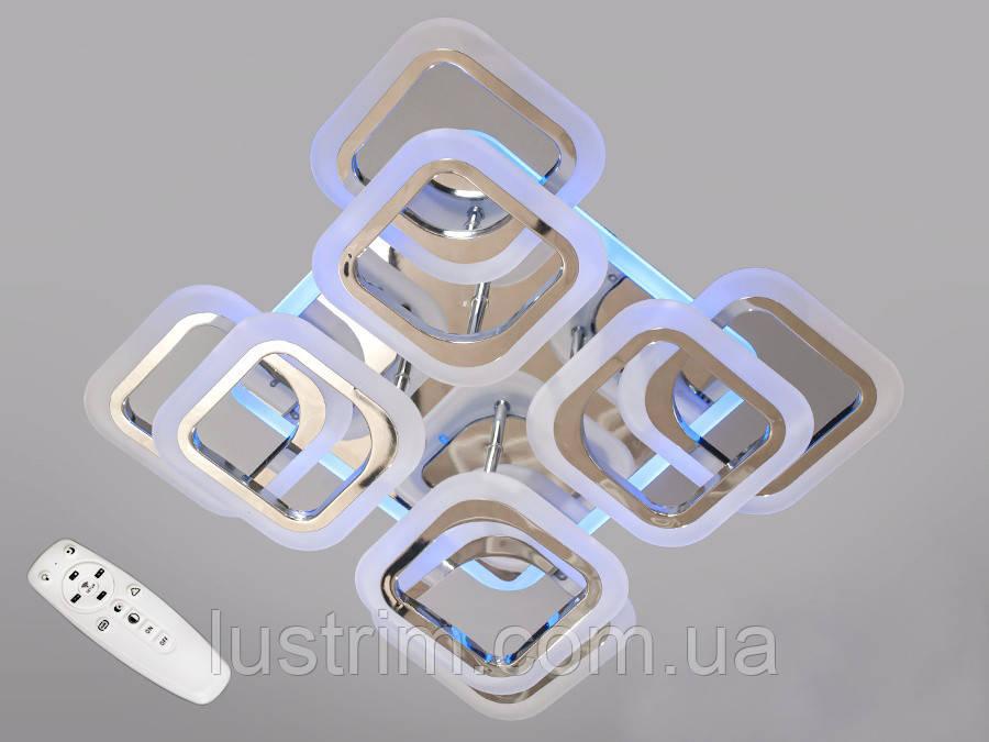 Светодиодная люстра с диммером и LED подсветкой, 110W