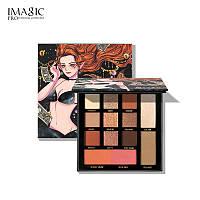 Палетка тіней для повік - Imagic PROfessional cosmetics Lorelei EY-334 (Оригінал)