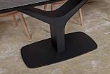 Стол обеденный VULCAN oval керамика серый антрацит 160/240*90 Nicolas (бесплатная доставка), фото 10