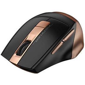 Мышь беспроводная A4tech FG35 Black/Bronze, фото 2