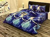 """Комплект постельного белья Бязь Gold в кроватку """"Холодное сердце"""" 100*150 см"""