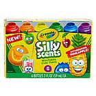 Набор смываемые ароматизированные краски Silly Scents 6 цветов 354 мл. Crayola 54-2392, фото 2