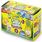 Набор смываемые ароматизированные краски Silly Scents 6 цветов 354 мл. Crayola 54-2392, фото 5