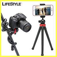 Гибкий штатив-осьминог / Трипод 360 для телефона, камеры, GoPro, фото 1