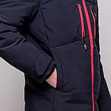 Чоловіча зимова куртка, синього кольору., фото 6