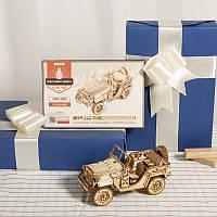 3D-пазл конструктор Robotime «Field Car MC701» лучший подарок для семьи и друзей