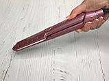 Щипцы - плойка для выпрямления волос с широкой пластиной Gemei 2957, фото 5