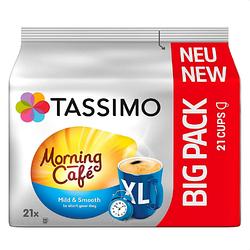 Кофе в капсулах Tassimo Morning Cafe Mild & Smooth XL 21 порция (BIG PACK 21). Германия (Тассимо)