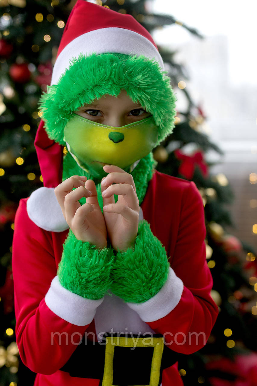 Детский карнавальный костюм Гринча