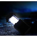Кемпинговый светодиодный фонарь на солнечных батареях G85, фото 9