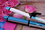Утюжок гофре стайлер плойка для волос 3 в 1 Gemei GM-2921 (локоны, выпрямитель, гофре), фото 6