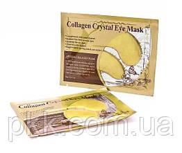 Патчи гидрогелевые для кожи вокруг глаз Collagen Crystal Gold Powder Eye Мask c коллагеном