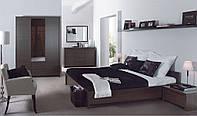 Спальня 3 Kaspian BRW дуб сонома/белый глянец