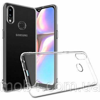 Прозорий силіконовий чохол для Samsung Galaxy (Самсунг Гелексі) A10 S