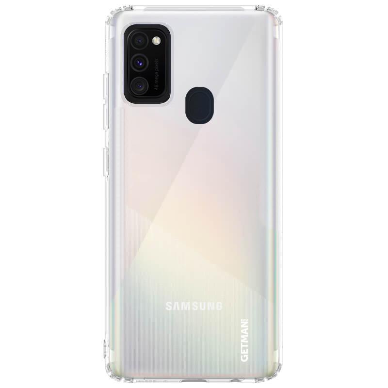TPU чехол GETMAN Clear 1,0 mm для Samsung Galaxy M30s / M21
