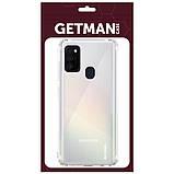TPU чехол GETMAN Clear 1,0 mm для Samsung Galaxy M30s / M21, фото 2