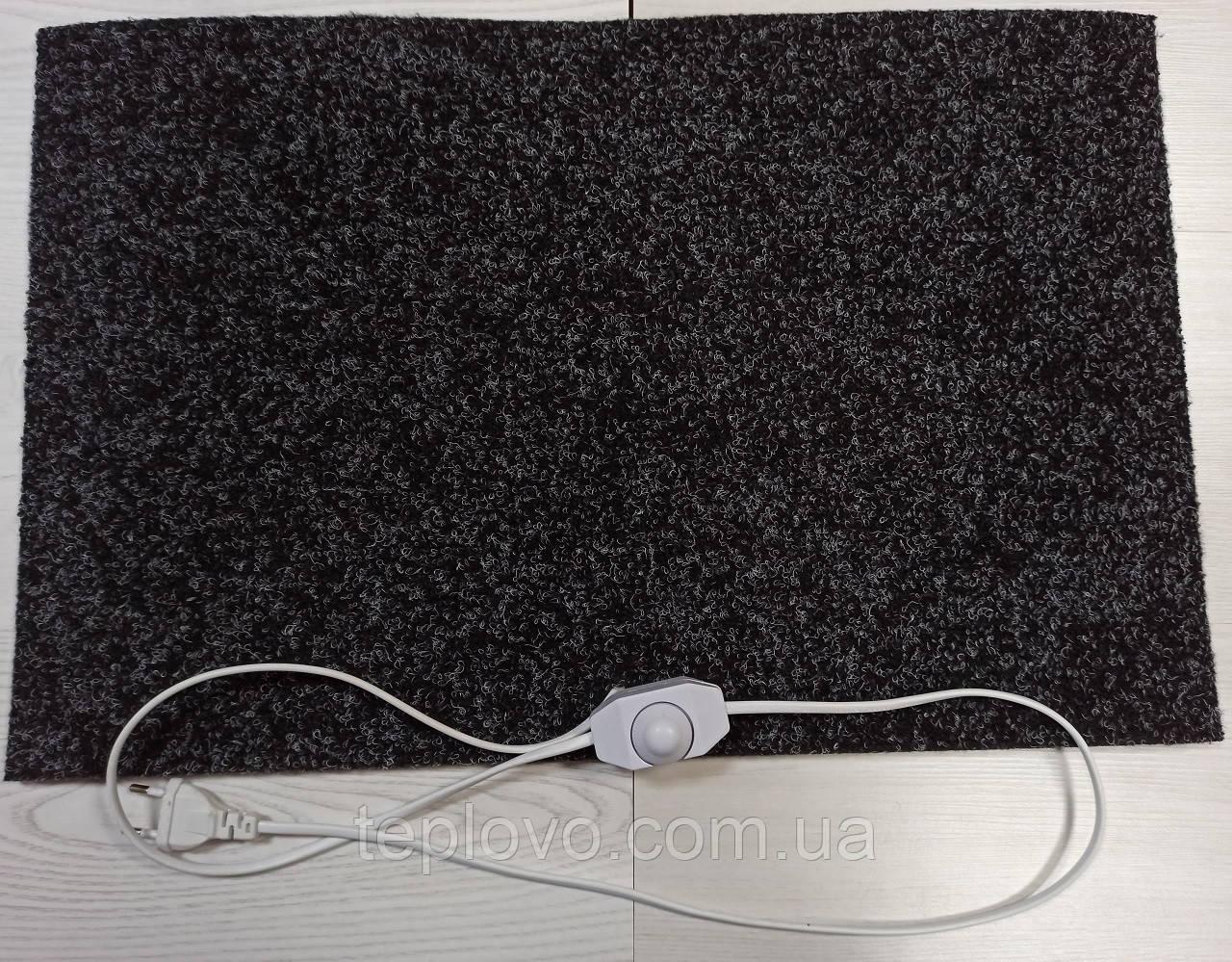 Электрический коврик с подогревом, 55х80 см, с регулятором