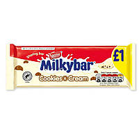 Шоколадка Nestle Milkybar Cookies Cream 90 g