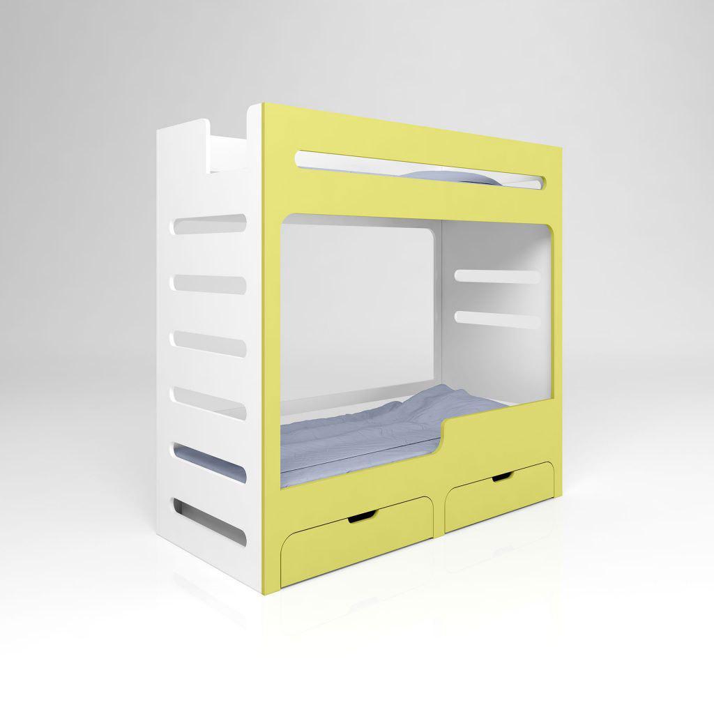 Двухъярусная детская кровать ДДК 17